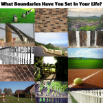 what boundries have you sent in your life